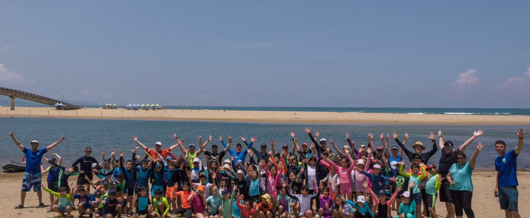 School Trip for Watersports at the Beach
