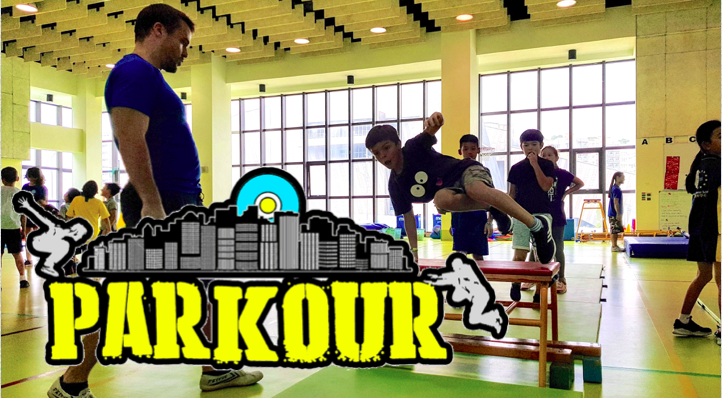 Parkour graphic vince