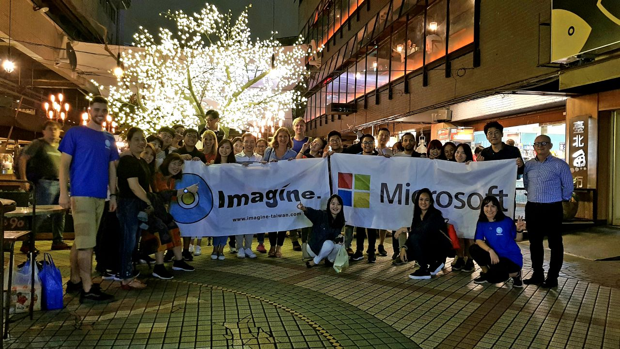 Corporate Teambuilding in Taiwan with Microsoft
