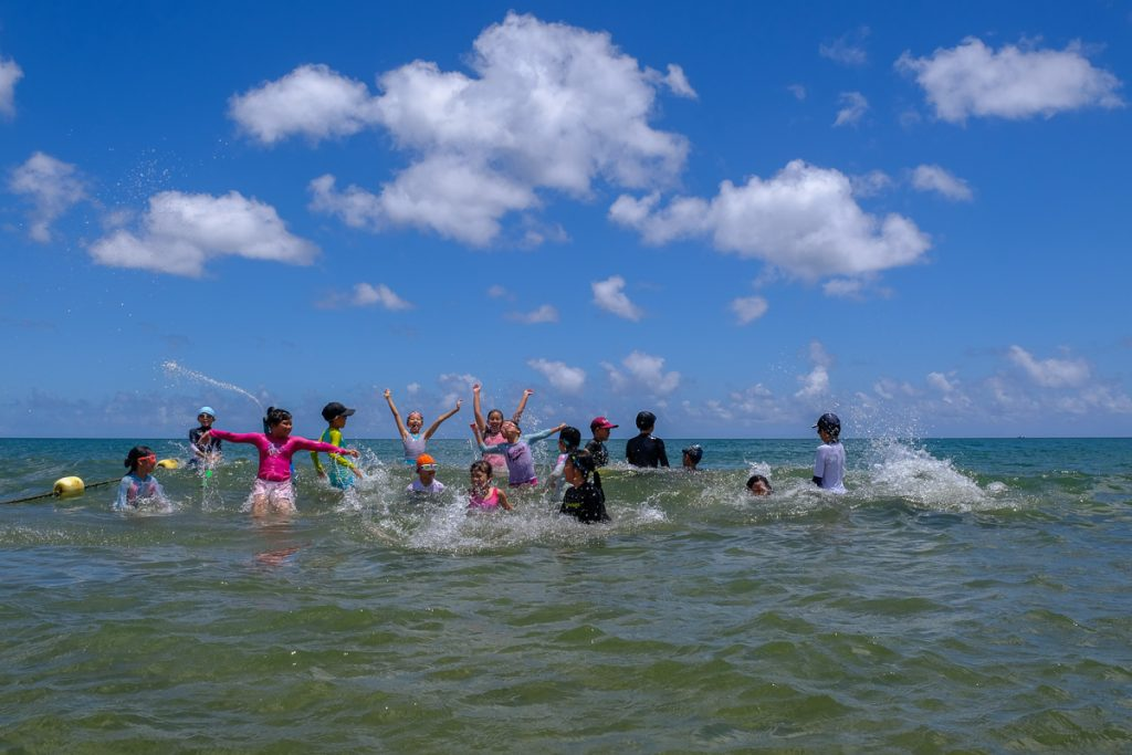 Beach games with Imagine, Summer camp 2019-1