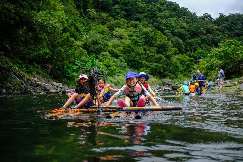 Imagine Taiwan Summer Camp 2019 Raft building 1