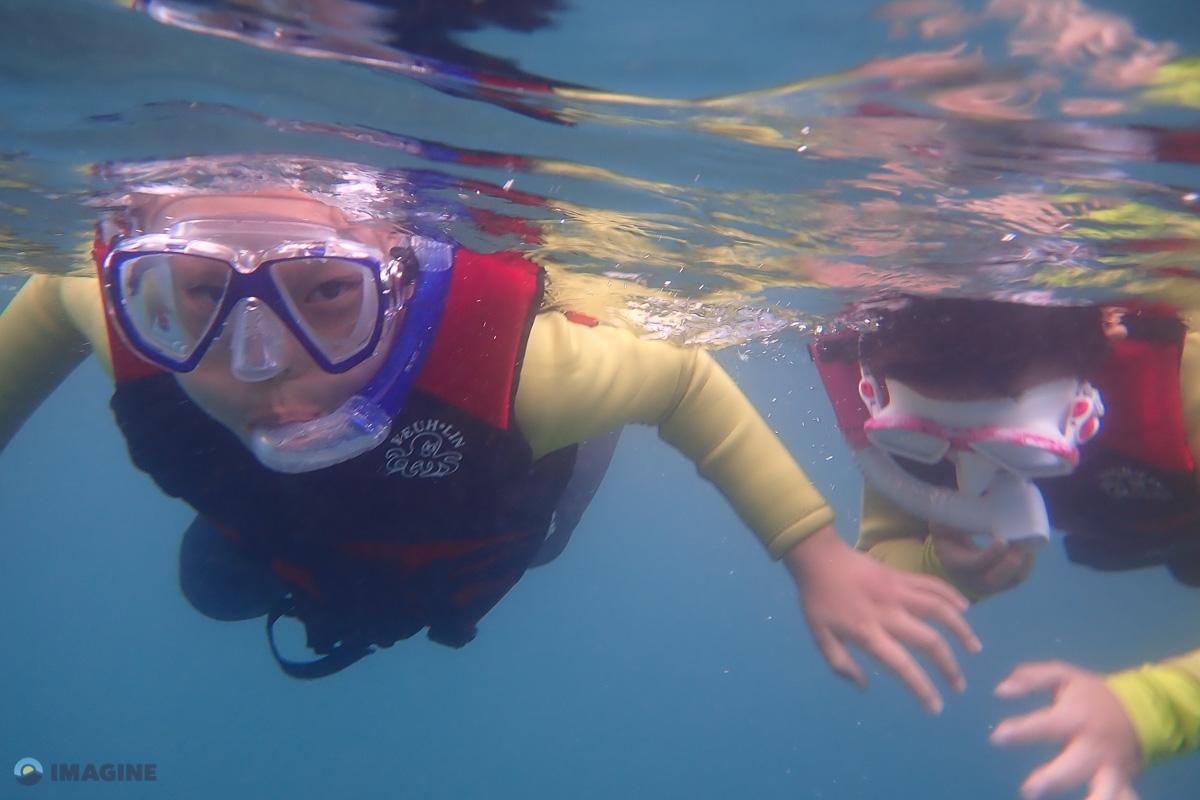 Snorkeling in Taiwan