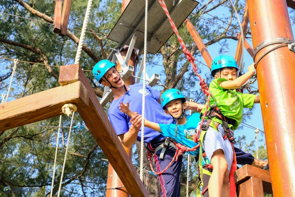 High Ropes and Zip Line in Taiwan