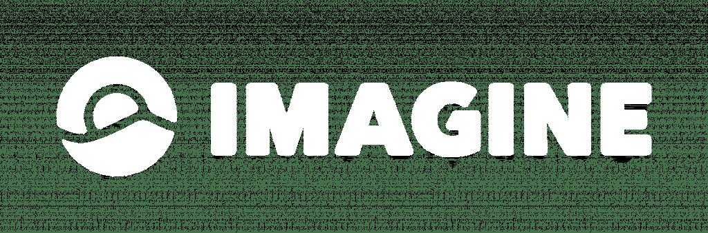 Imagine Logo White