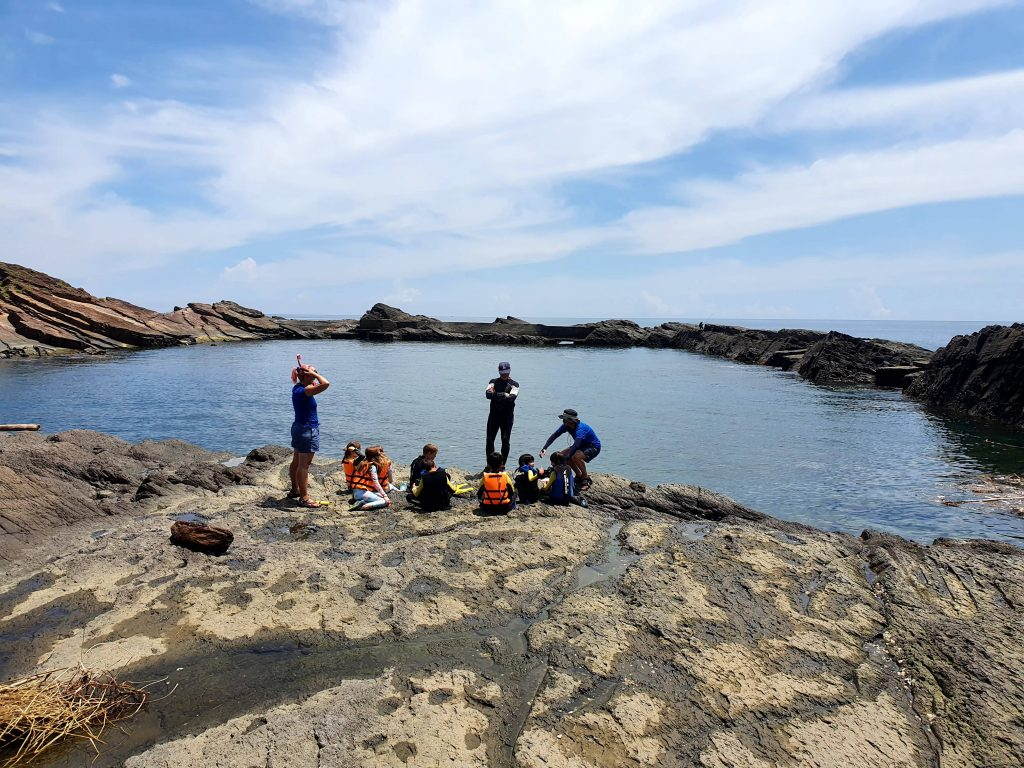 Snorkling diving on Taiwans east coast