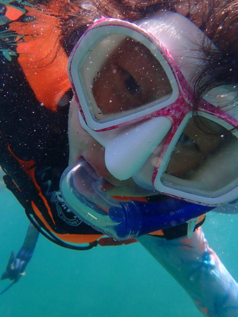 Snorkling in Taiwan