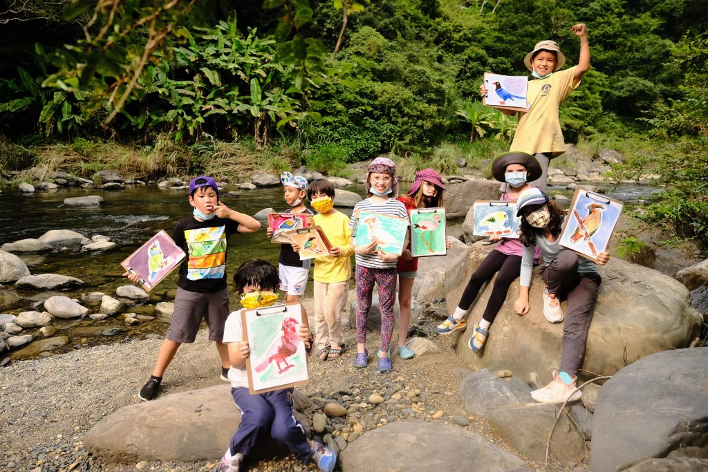 Young Ecologists Bird Watching and Art Ecperiential Learning Camp