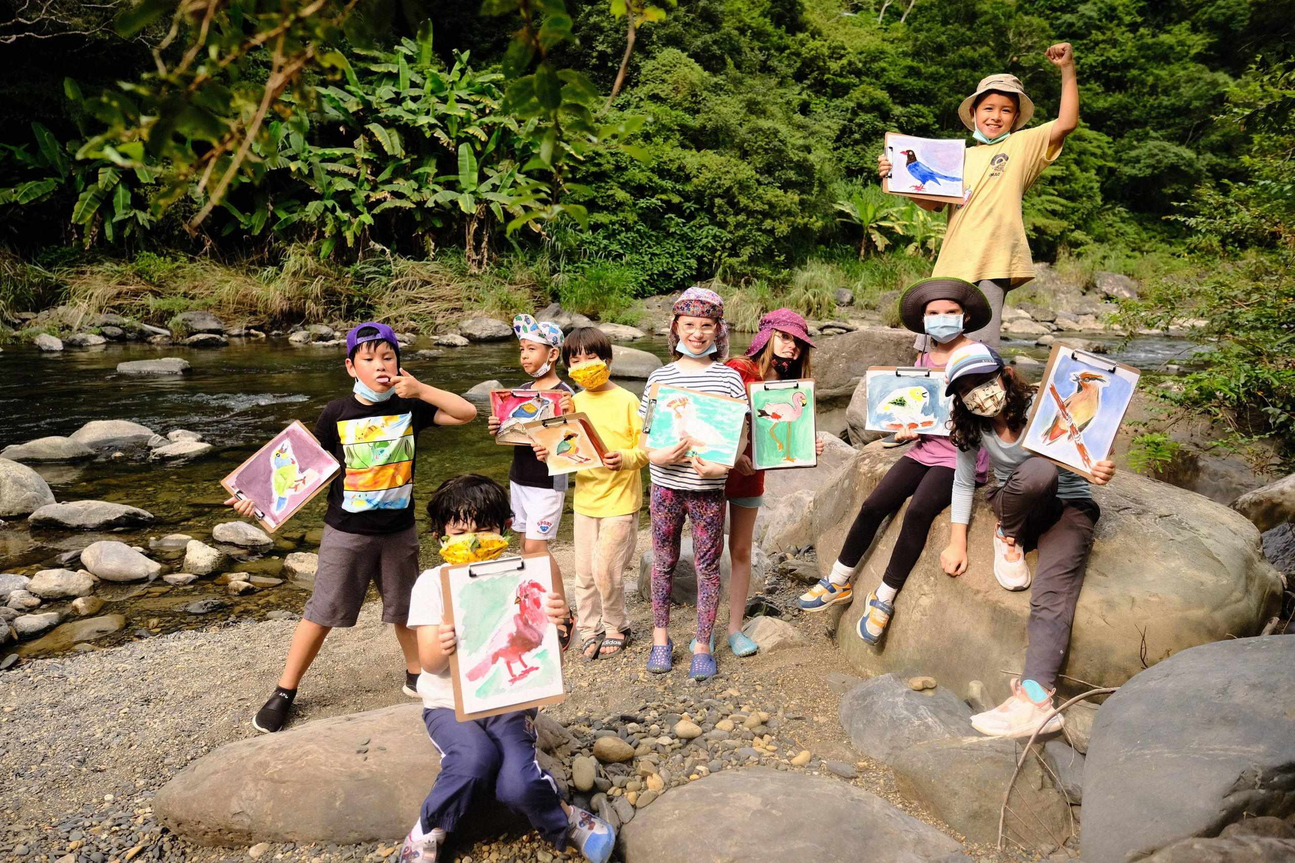 Young Ecologists Bird Watching and Art Ecperiential Learning Camp scaled