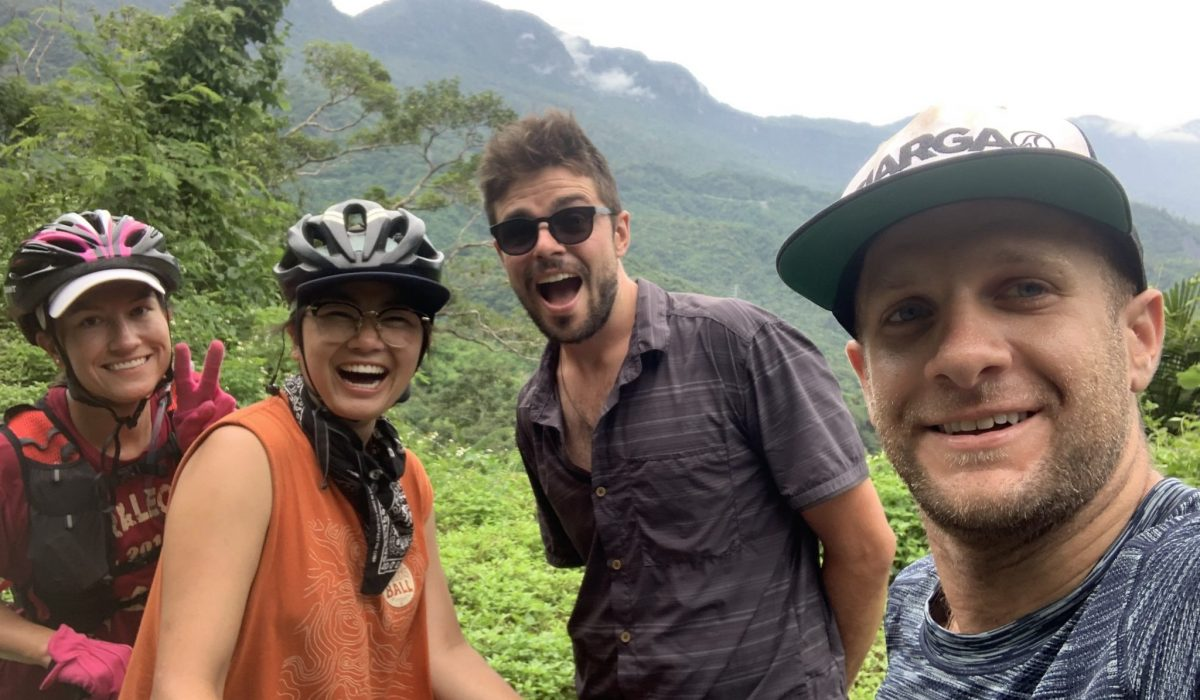 Cycle touring about with Imagine taiwan