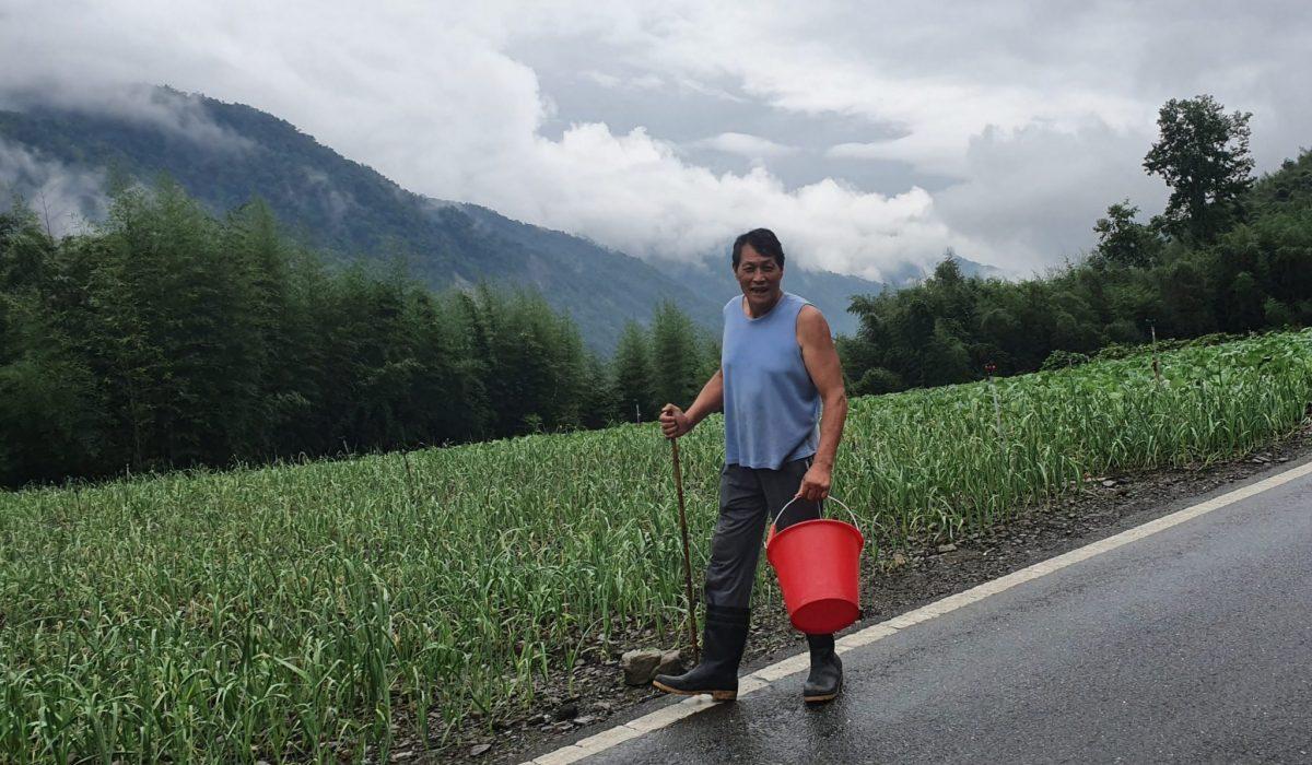 Man in the mountains taiwan