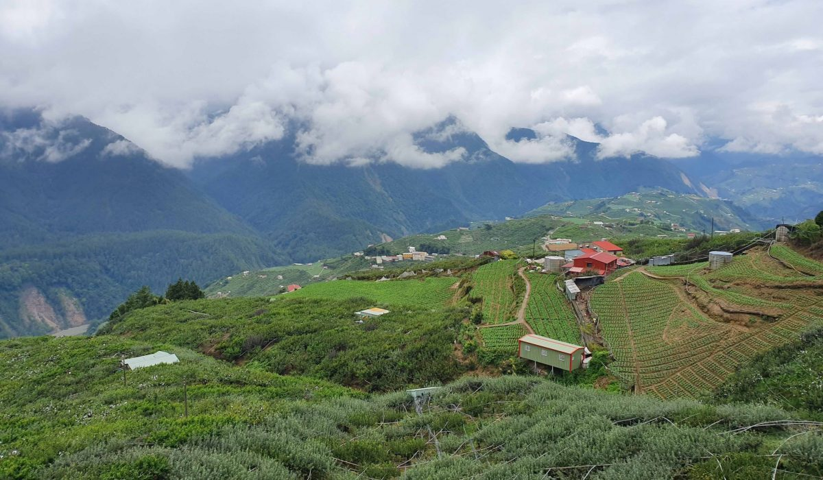 Up in the mountains Taiwan